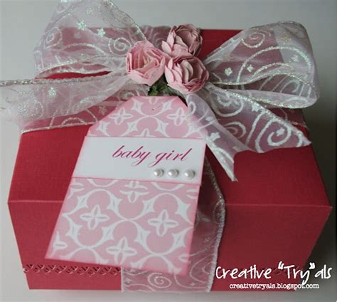 Creative Handmade Ls - creative quot try quot als gift box baby