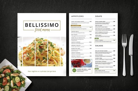 25 printable catering menu templates psd indesign word