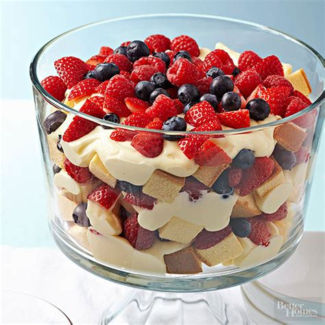 fruit trifle berry trifle