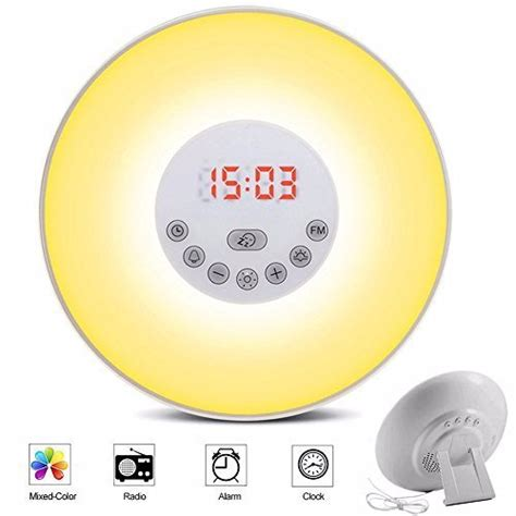 alarm clock simulator daylight alarm