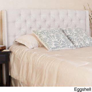 perryman adjustable full queen tufted fabric headboard by