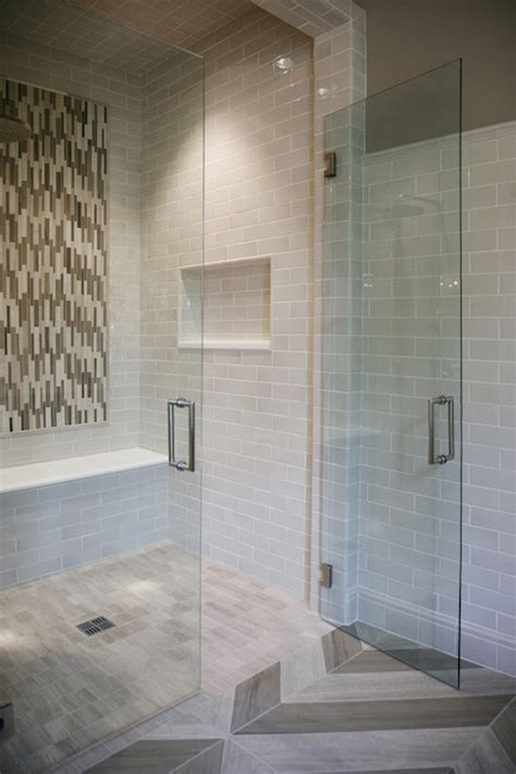 bathroom shower tile ideas gray new staggering bathroom shower with gray subway tiles contemporary bathroom