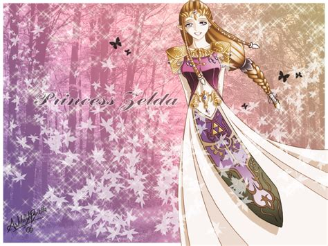 gold zelda wallpaper princess zelda wallpaper by uniesque on deviantart