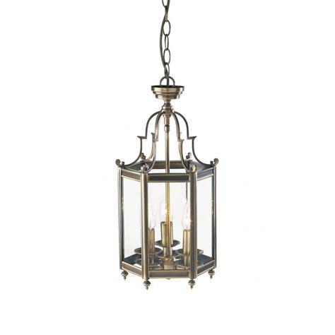 moorgate traditional victorian antique brass hall lantern
