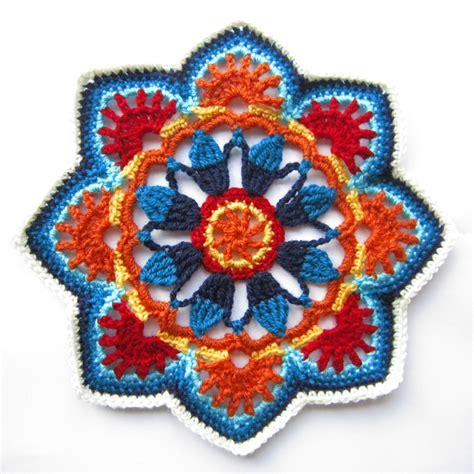 pattern persian tile knit crochet design persian tiles
