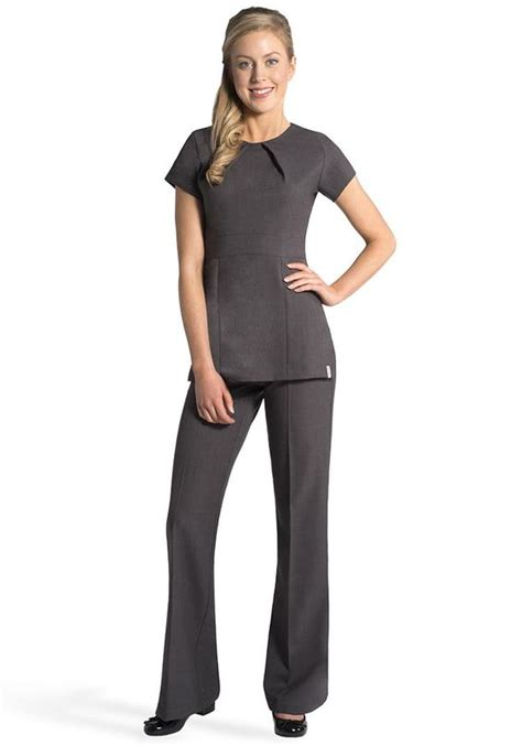 florence roby uniforms tunics salon wear
