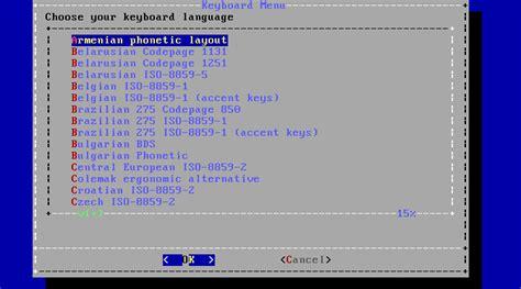 freebsd keyboard layout 2 5 using bsdinstall
