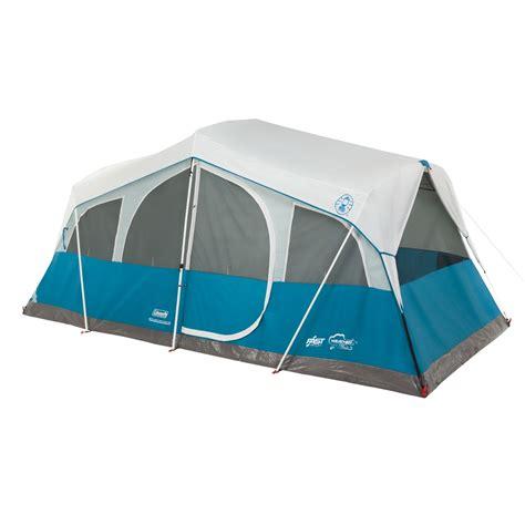 Coleman Instant Cabin 8 by Coleman Instant Cabin 8 Tent Navy Blue 2000015607