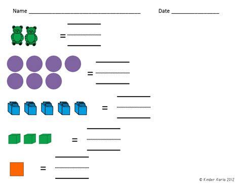 preschool mathematics an examination of one program s karla s kreations kindergarten math assessments