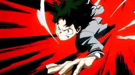 Boku no hero academia anime logo punch