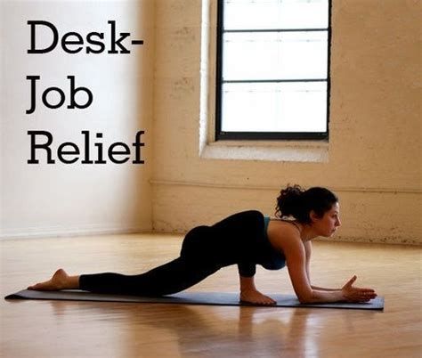 Poses For Sitting At A Desk by Poses To Do After Sitting At A Desk All Day Healthy