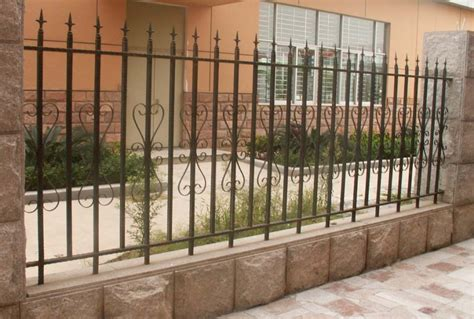 galvanized wrought iron fence newest wrought iron fence design in other stainless steel from