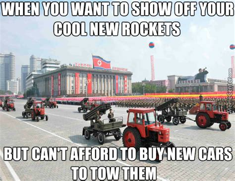 Tractor Meme - glorious tractors of the dprk will plow the fields of