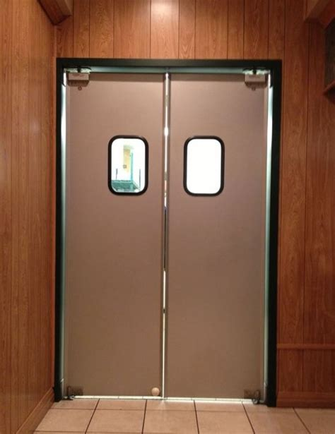 Swinging Door by Aluminum Swinging Doors Paylon Swinging Doors