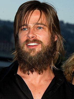 brad pitt decides to grow out forehead hair brad pitt brad pitt hair loss is not a problem or is it