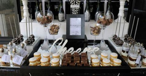 desserts for new years kara s ideas new year s dessert bar with such