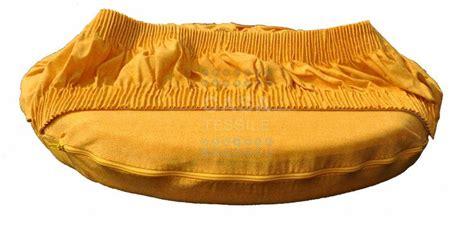 cuscini rotondi per sedie panama cuscino coprisedia rotondo con fascia elastica