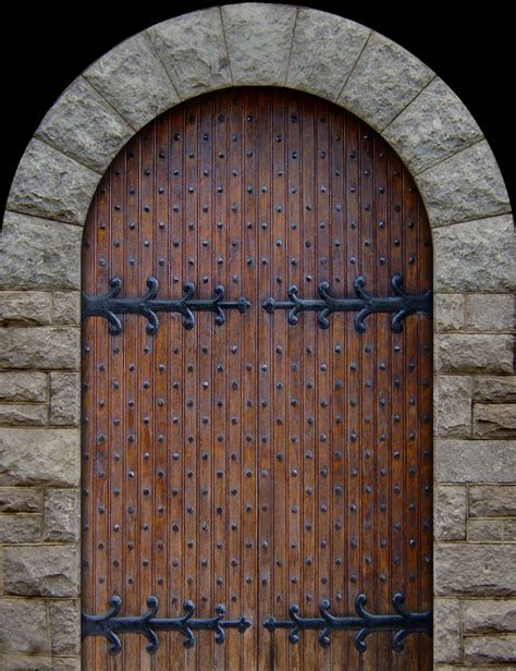 Wooden Door Designs studs in medieval doors blacksmithing general