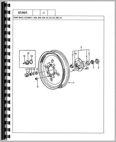 ford 3600 tractor parts diagram ford 3600 tractor parts manual