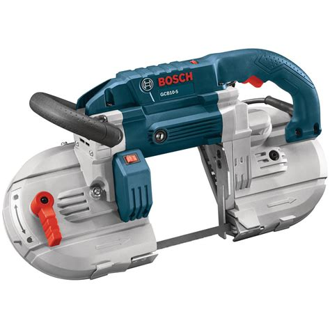 portable band saw bosch 10 variable speed portable band saw gcb10 5 the home depot