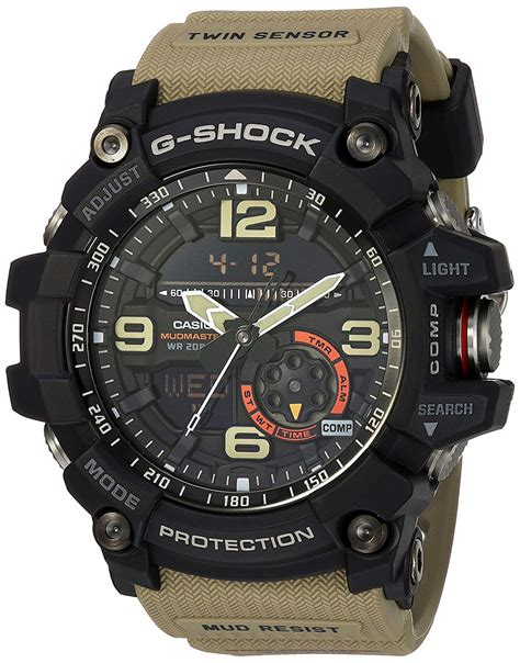 Casio G Shock Gg1000 g shock gg 1000 1a5cr mudmaster watches beige one