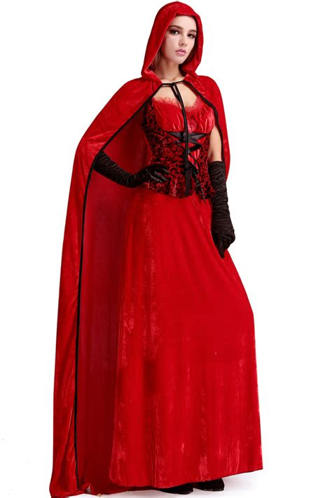 red gothic prom queen costume   sexy halloween