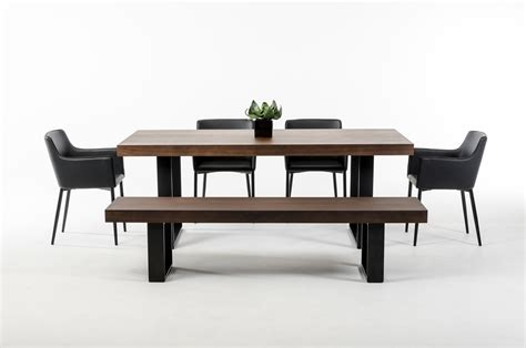 Modern Wenge Dining Table with Lola Modern Wenge Walnut Dining Table