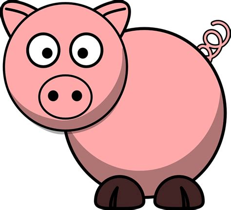 Clipart Pig pig animal farm 183 free vector graphic on pixabay