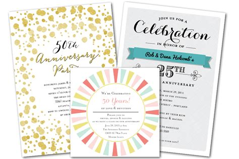 Wedding Anniversary Cards By Email by Email Anniversary Invitations That Wow