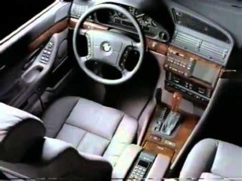 2001 bmw 740il interior
