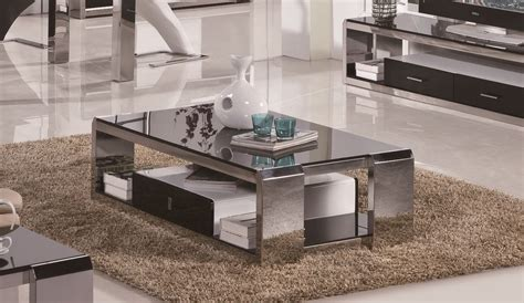 contemporary stainless steel table stainless steel coffee table designs ideas stainless