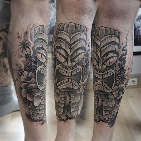 tiki mask tattoo best tattoo ideas gallery