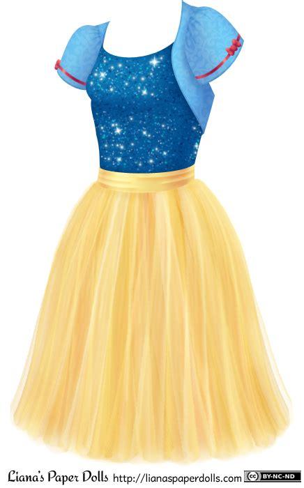 Liana Skirt Brown disneybound snow white with yellow tulle skirt