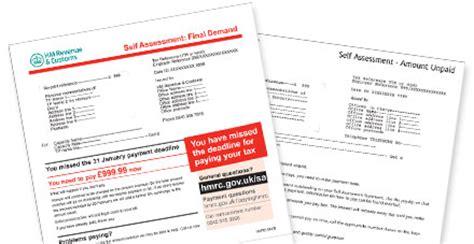 Hmrc Award Letter Design Business Association Hmrc Self Assessment Letter