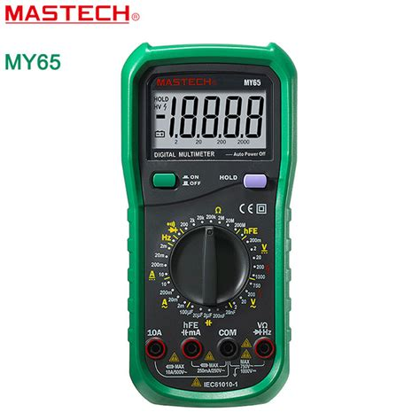 how to check capacitor with voltmeter aliexpress buy mastech my65 digital multimeter dmm ac dc voltmeter ammeter ohmmeter w