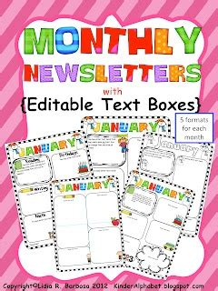 17 Best Ideas About Class Newsletter On Pinterest Class Newsletter Template Classroom Show Templates For The Classroom