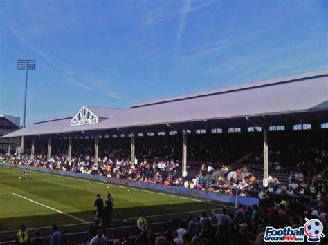 fulham cottage craven cottage home to fulham football ground map