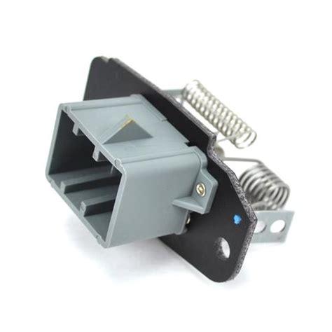lightning resistor f 150 svt lightning a c blower motor resistor kit 93 95