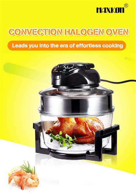 maxkon 0 250 176 c 17l turbo low convection halogen oven