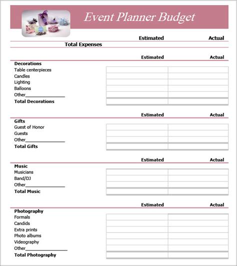 event checklist template in word excel format invoice