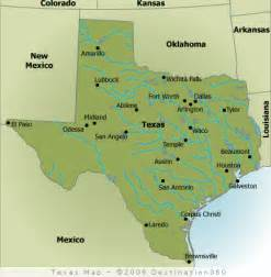 where is houston on a map