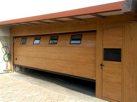 sezionali per garage neat porte per garage in legno de07 pineglen