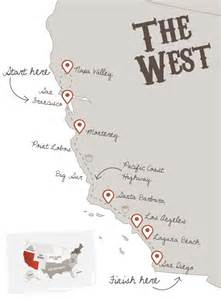 california coast map road trip 25 best ideas about highway road on pacific