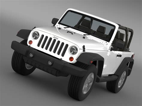 jeep model jeep wrangler islander edition 2010 3d model buy jeep