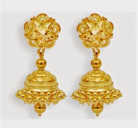 jhumka design images beautiful traditional south indian gold jhumka designs
