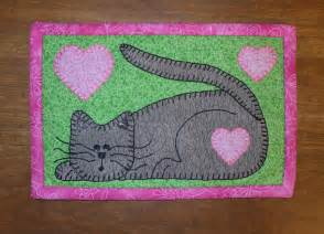 free mug rug patterns you to see kitten mug rug pattern on craftsy