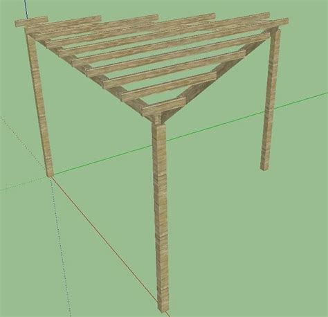 triangular pergola designs for the home pinterest