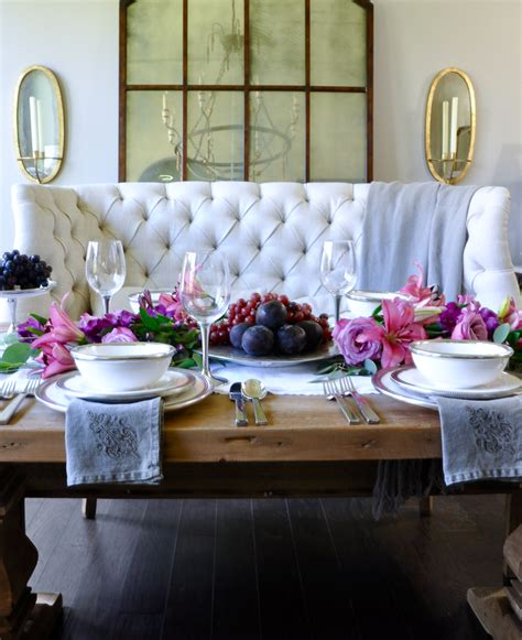 Table styling basics featuring arte italica decor gold designs