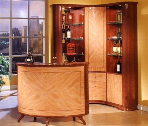 barcelona wine cabinet and bar set makes for home