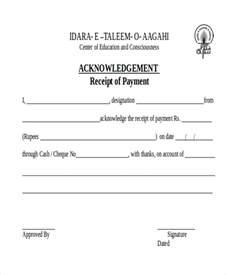 receipt of money template doc 750476 acknowledgement receipt 18 payment